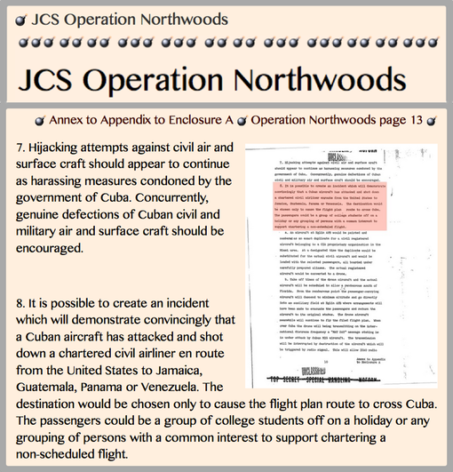 1962 JCS Operation Northwoods