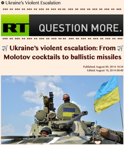 20140809 Ukraine's Violent Escalation