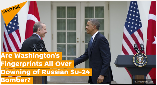 20151127 Are Washington's Fingerprints All Over Downing of Russian Su-24 Bomber?