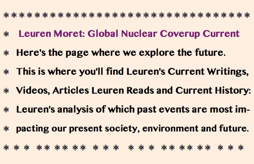 CURRENTS Masthead - Leuren Moret- Global Nuclear Coverup Current