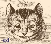(-ed) Cheshire Cat Smiling (EDITOR LMGNC)