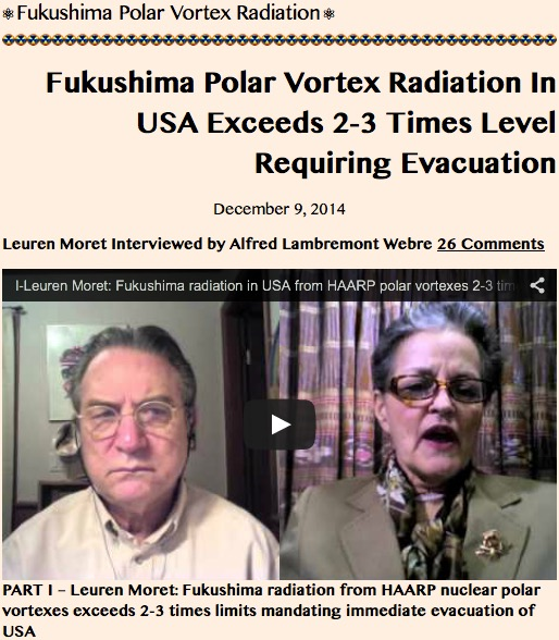 Fukushima Polar Vortex Radiation