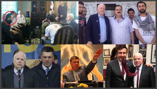 McCain-Terrorists Collage
