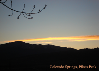 Pic 1. Colorado Springs, Pike's Peak
