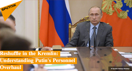 Pic 1. Reshuffle in the Kremlin- Understanding Putin's Personnel Overhaul