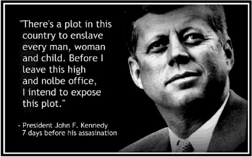 "Pic 3. Kennedy re ""Plot"" in America_7-days Before Assasination.tumblr_lybnvkZGLi1r59un1"