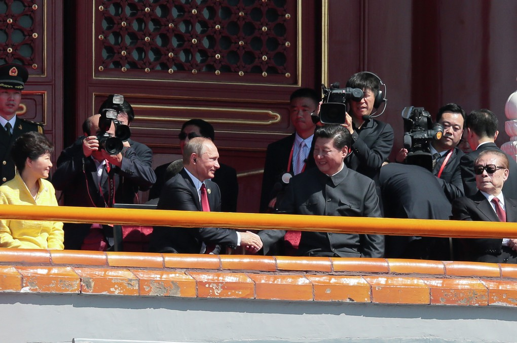 Pic 4. Russian President Vladimir Putin's visit to China. Day Two, 1032376661