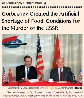 TITLE- 20160331 Gorbachev Created the Artificial Shortage of Food- Conditions for the Murder of the USSR