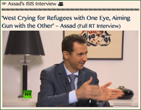 -TITLE- Assad's ISIS Interview