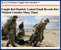 TITLE- U.S.'n'Ukraine Caught Red Handed