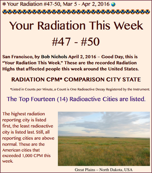 TITLE- Your Radiation #47-50, Mar 5 - Apr 2, 2016