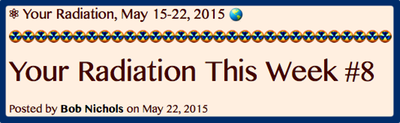 TITLE- Your Radiation, May 15-22, 2015