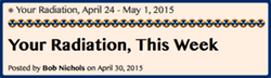 TITLE-BUTTON- Your Radiation, April 24 - May 1, 2015