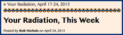 TITLE-BUTTON- Your Radiation, April 17-24, 2015