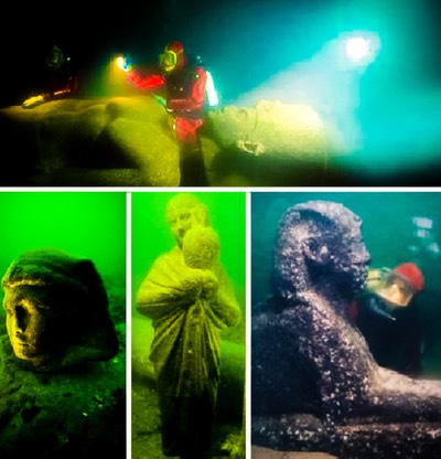 Underwater Archeology - alexandria-egypt-ancient
